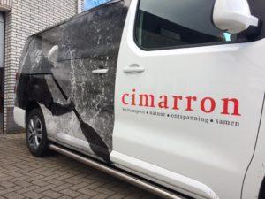 Cimarron Peugot Expert belettering Eindhoven