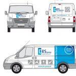 DRS Groep Busbelettering