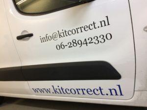 Kit Correct autobelettering Veldhoven