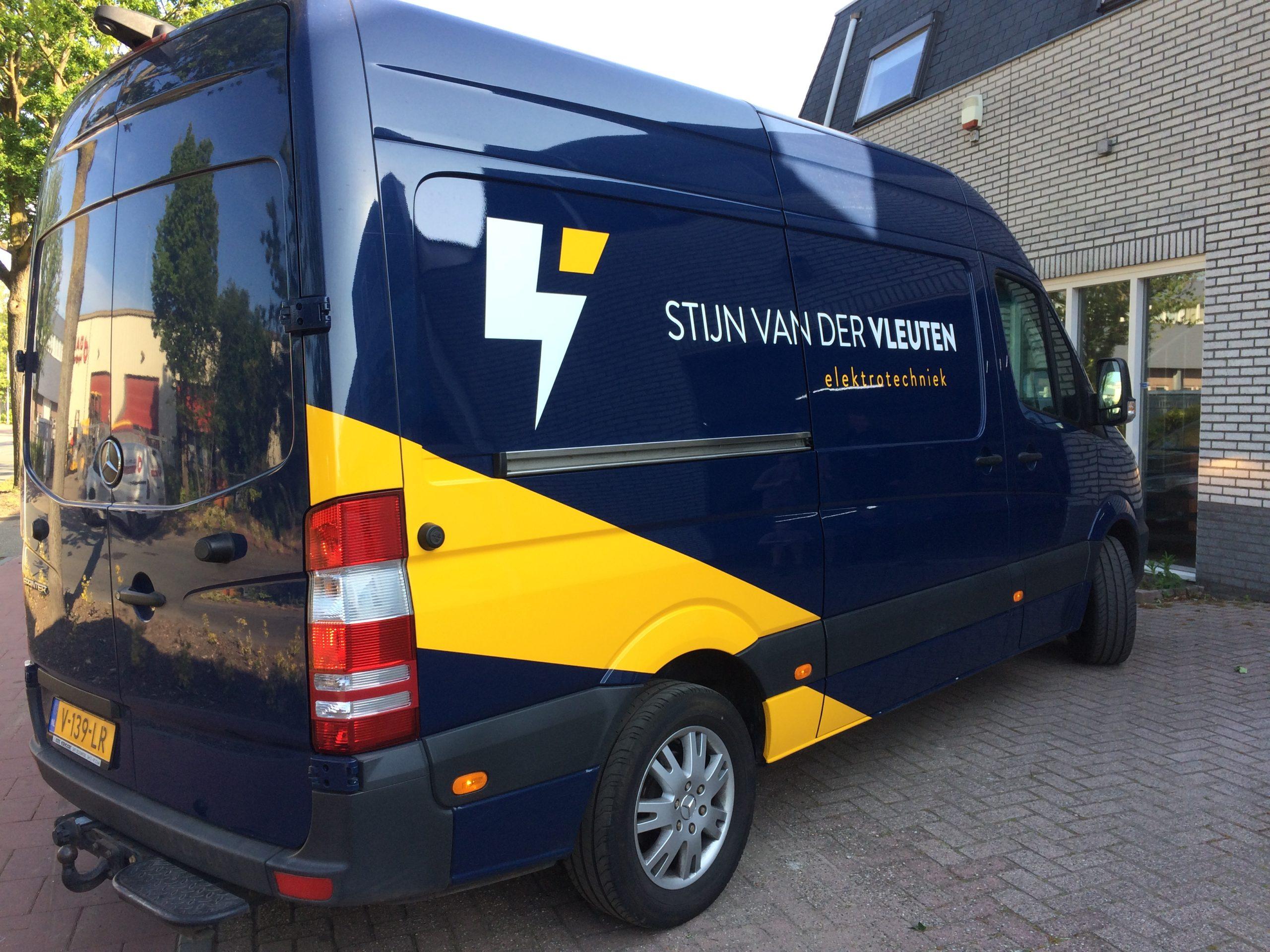 Stijn van der Vleuten Elektrotechniek Belettering Son en Breugel