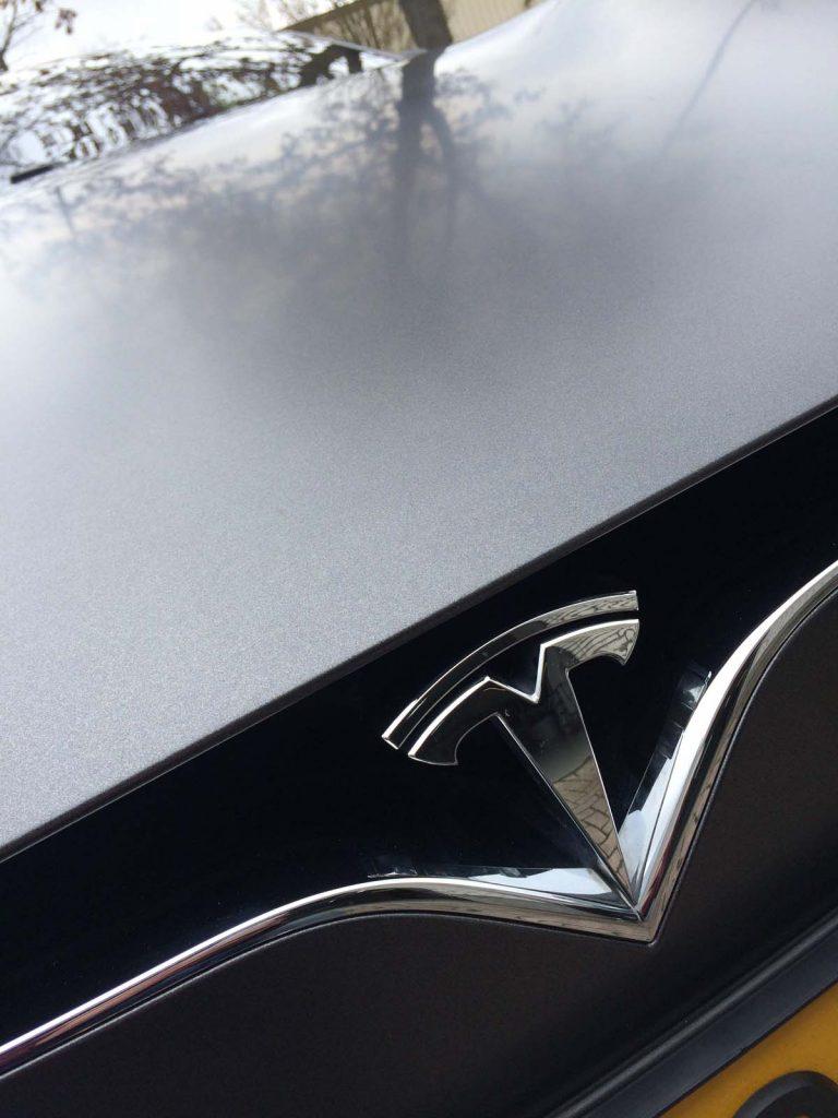 Carwrap Tesla model S