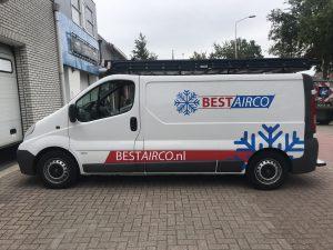 Busbelettering BestAirco