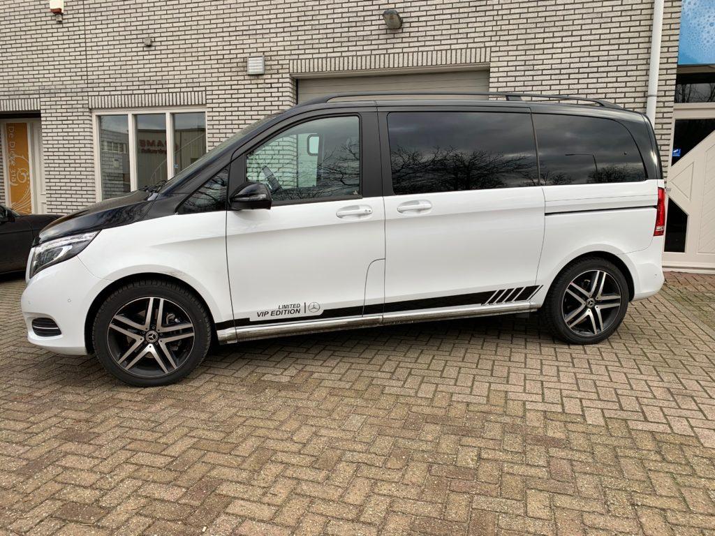 Autobelettering Eindhoven Mercedes Vito