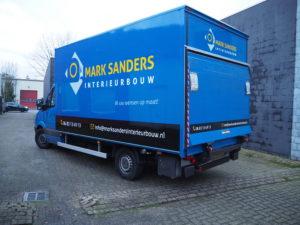 Mark Sanders Autobestickering Eindhoven