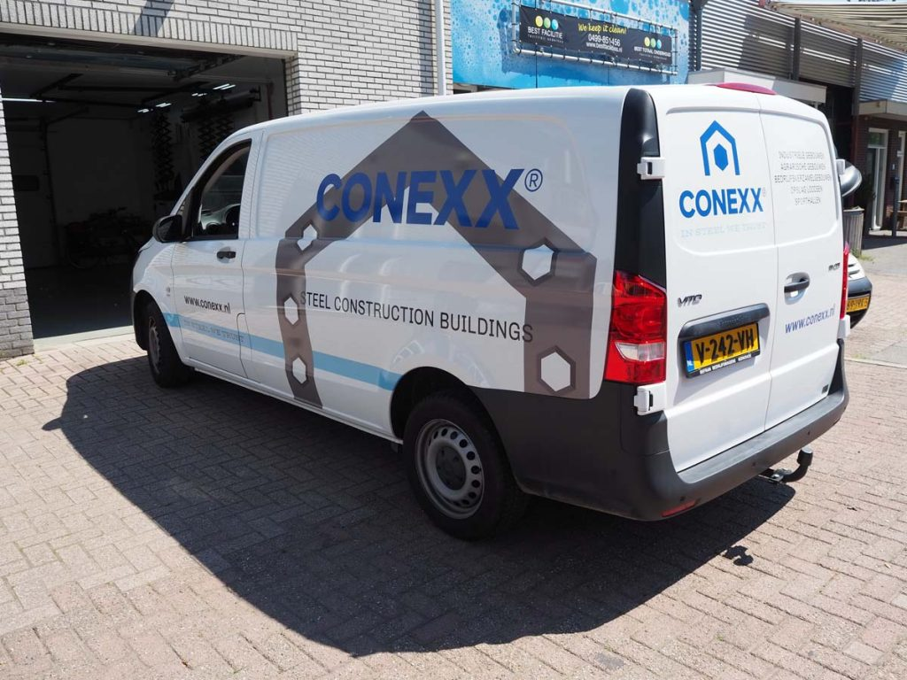 Busbelettering Conexx
