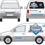 Rijnders autobelettering Caddy