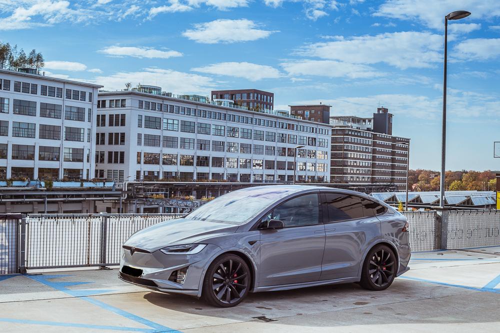 Tesla Carwrap Nardo Grey 2