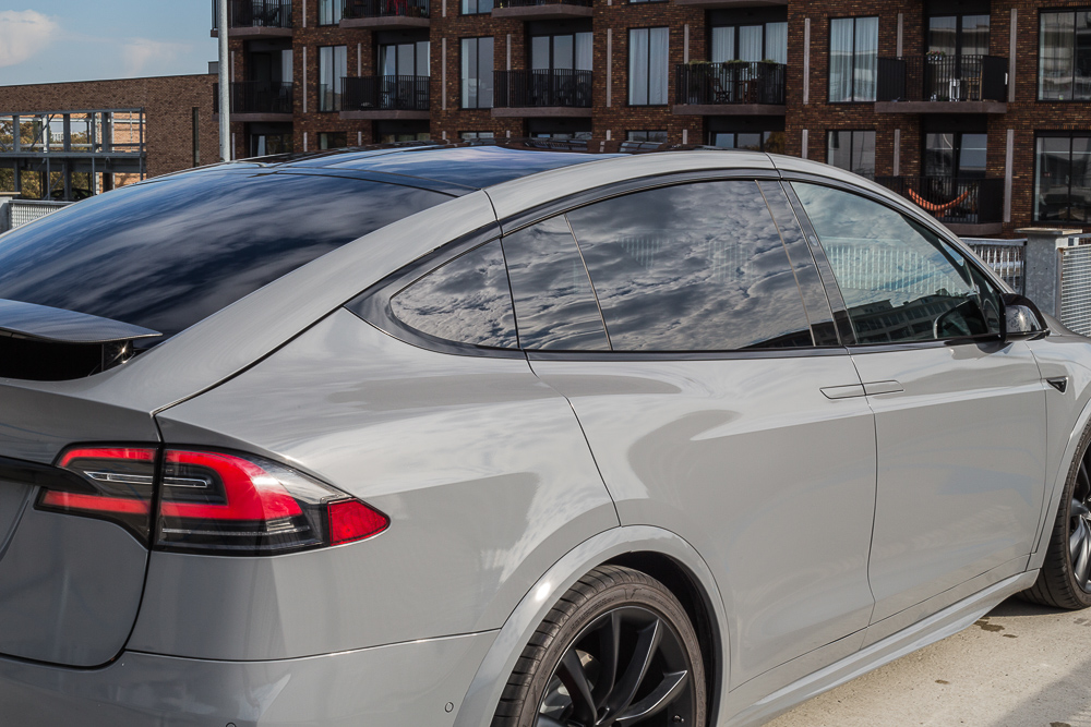 Tesla Carwrap Nardo Grey 8
