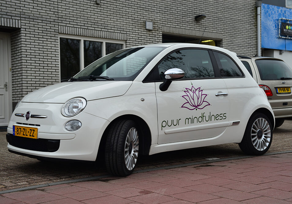 Fiat 500 Belettering Puur Mindfulness58
