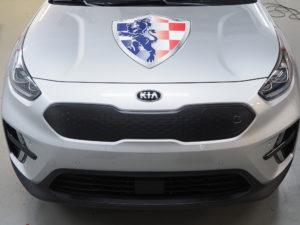 autobelettering logo motorkap